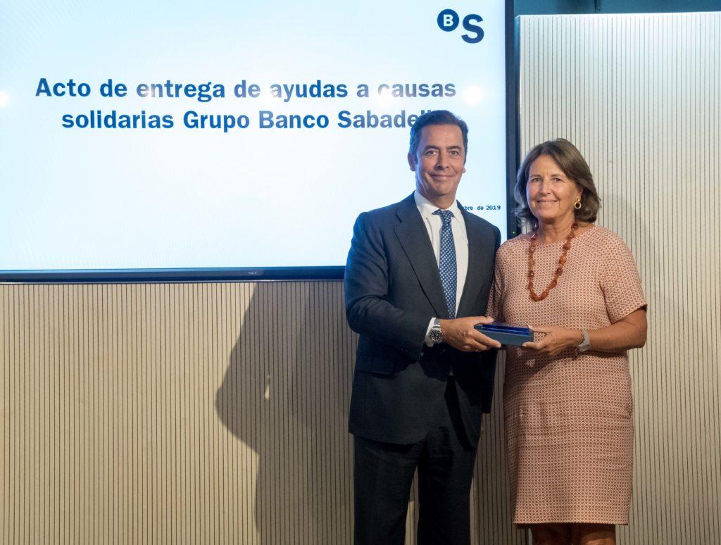 BANCO SABADELL. ACTO DE ENTREGA DE AYUDAS A CAUSAS SOLIDARIAS