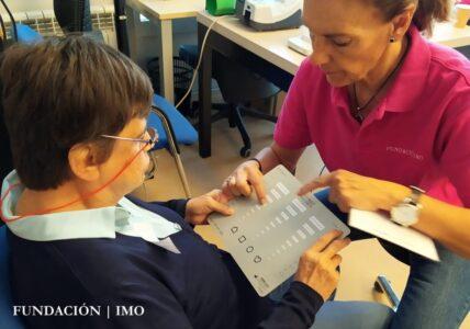 Revisión ocular con Fundación IMO